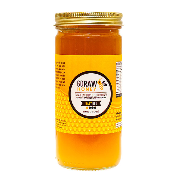 go raw honey - baby bee gift sized honey