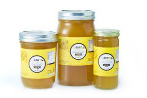 pure raw honey products