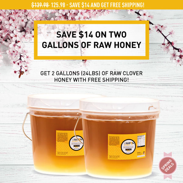 2019 Spring Double Honey Gallons
