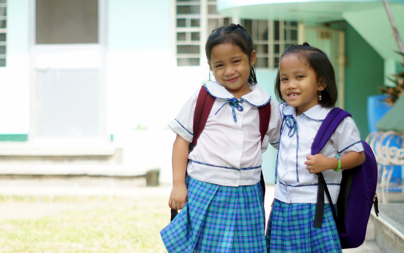 Giving Back: Helping Impoverished Filipino Kids Go To School