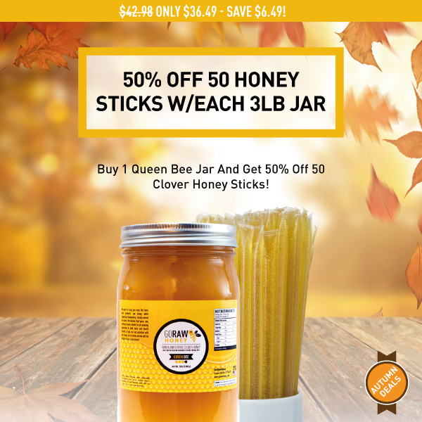 fall 2019 honey jar deal 50% off