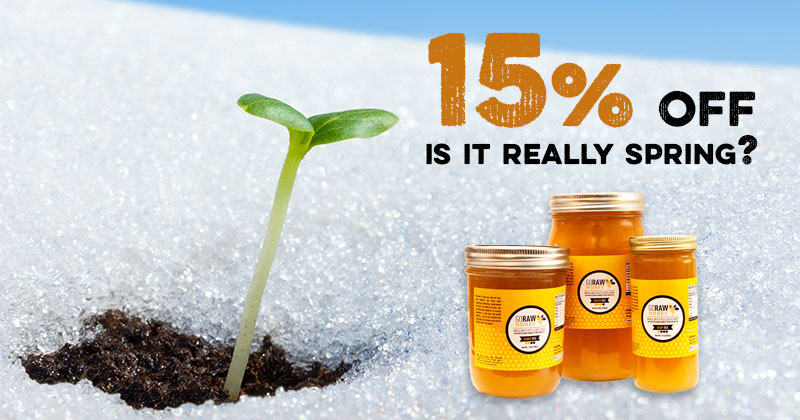 flash sale spring 2019 raw honey deals