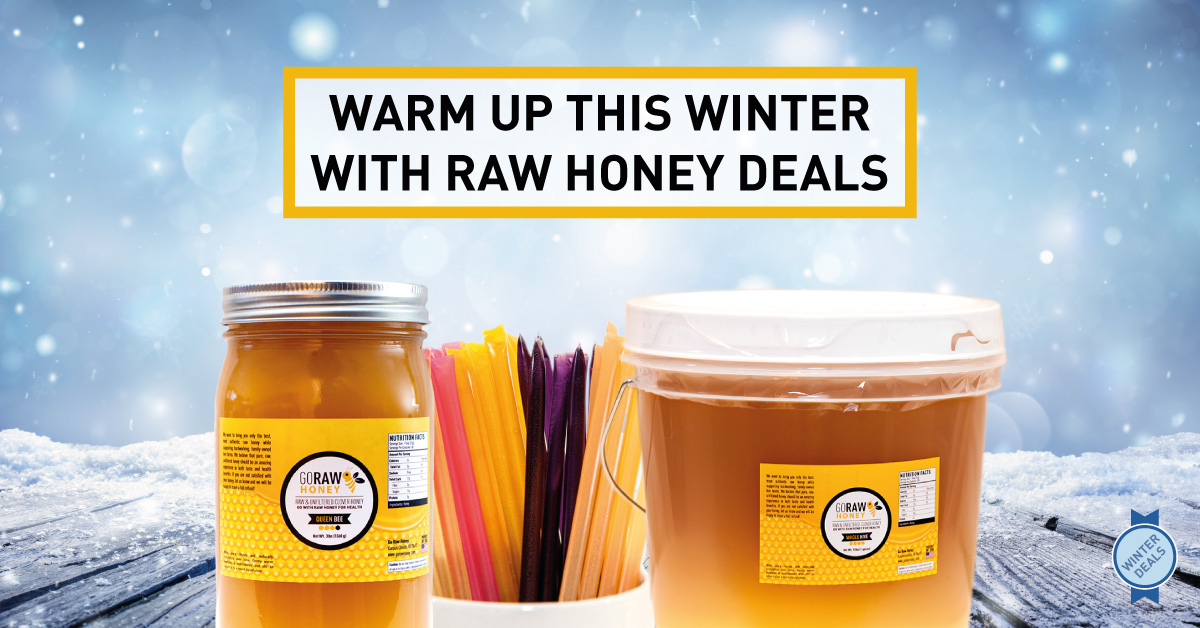 winter raw honey deals